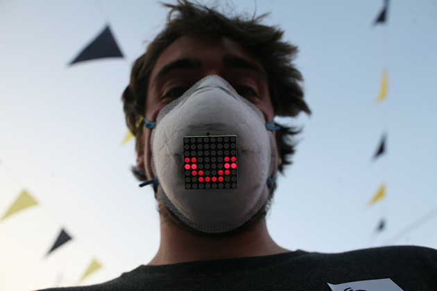 Technologies Run Forward – LED Mask Concept Shows the Hidden Emotions