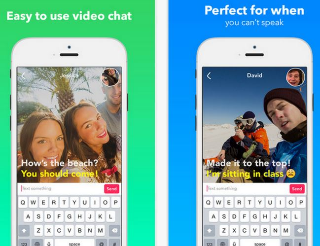 Yahoo's New Livetext App Lets You Do Audio-Free Video Messaging With Style