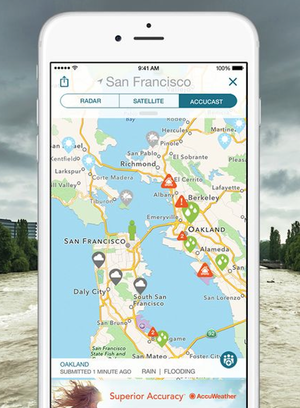 Crowd-sourced weather apps claim accuracy, but watch the sky anyway