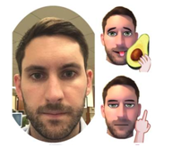 Emojiface, a new app that turns you into a  cartoonized emoji with just a selfie