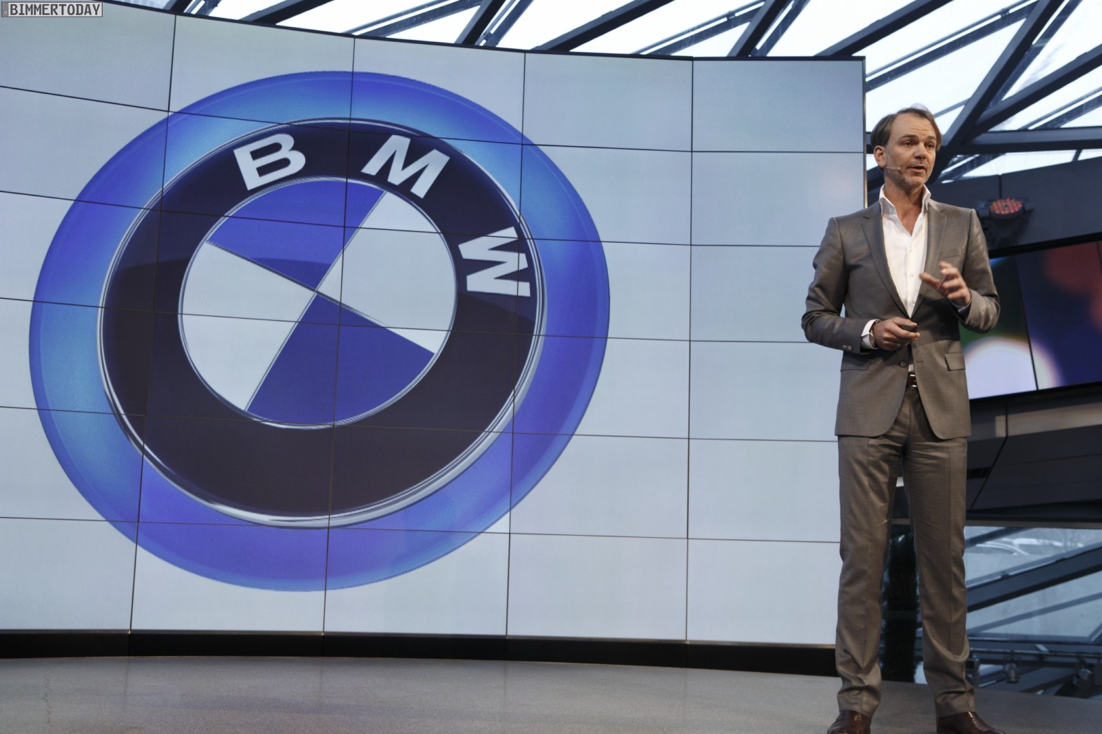 BMW don't want to do automated driving because think that the technologies must be 100% reliable